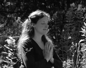 sam in prayer pose